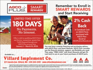 Remember to Enroll in Smart Rewards and Start Receiving