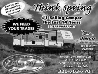 #1 Selling Camper the Last 14 Years 2 Year Warranty