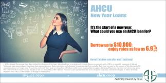 AHCU New Year Loans
