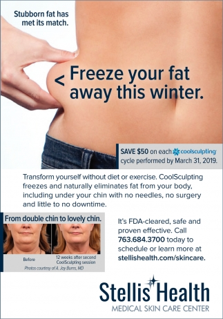 Freeze Your Fat Away this Winter