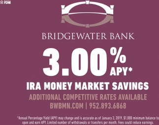 Additional Competitive Rates Available