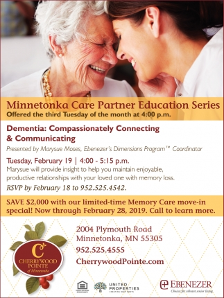Minnetonka Care Partner Education Series