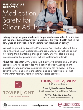 Use Only as Directed: Medication Safety for Older Adults