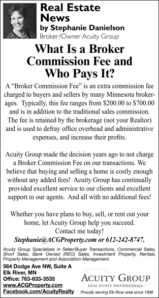 Wha is a Broken Commission Fee and Who Pays it?