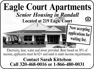 Senior Housing In Randall