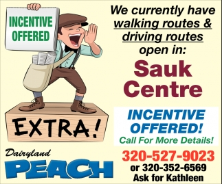 Incentive Offered!