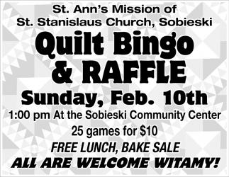 Quilt Bingo & Raffle