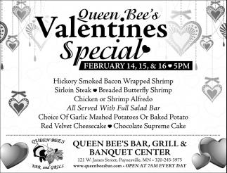 Queen Bee's Valentines Special