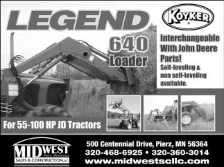Legend 640 Loader