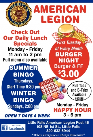 Check Out Our Daily Lunch Specials