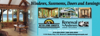 Windows, Sunrooms, Door and Awnings
