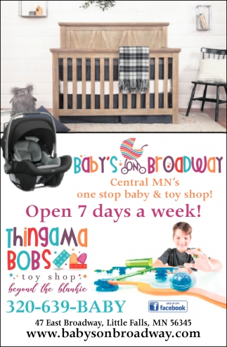 Open 7 Days a Week!