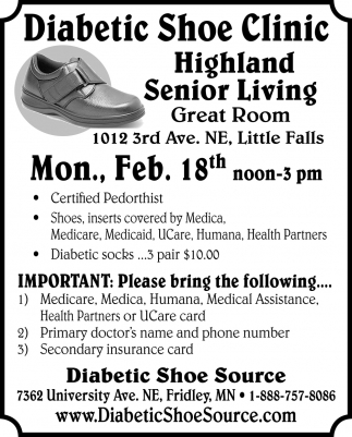 Diabetic Shoe Clinic