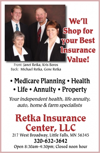 We'll Shop for Your Best Insurance Value!