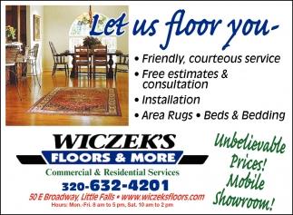 Let Us Floor You