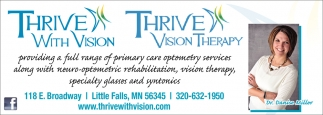 Providing a Full range of Primary Care Optometry Services