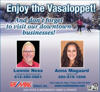 Enjoy the Vasaloppet!