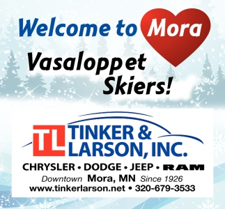 Welcome to Mora Vasaloppet Skiers!