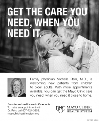 Get the Care You Need, When You Need it