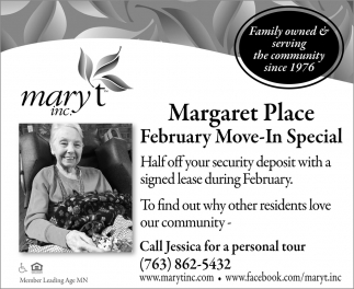 February Move-In Special