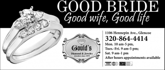 Good Bride, Good Wife, Good Life