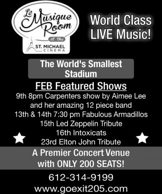 The Worlds Smallest Stadium!