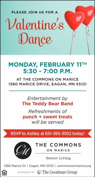 Please Join us for a Valentine's Dance
