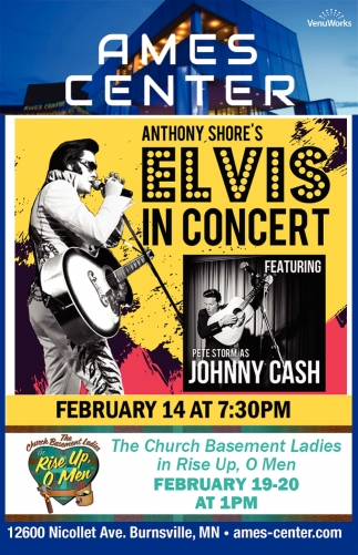 Anthony Shore's Elvis in Concert
