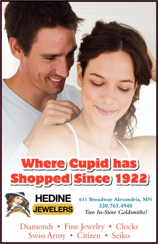 Where Cupid has Shopped Since 1922