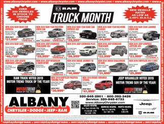 RAM Truck Month
