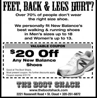 Feet, Back & Legs Hurt?