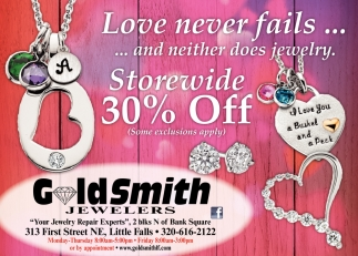 Love Never Fails... and Neither Does Jewelry