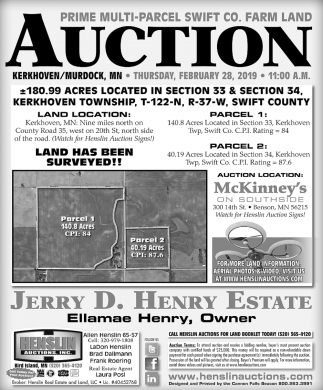 Prime Multi-parcel Swift Co. Farm Land