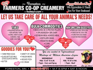 Let Us Take CAre of All Your Animal's Needs!