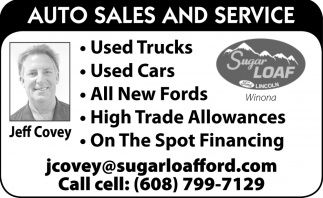 Auto Sales and Service