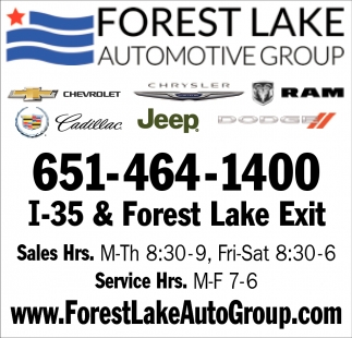 Forest Lake Auto Group >> Forest Lake Automotive Group Forest Lake Automotive Group