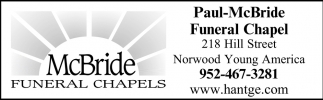 Funeral Chapels Paul Mcbride Funeral Chapel Norwood Young