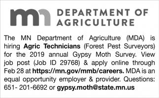 Agric Technicians