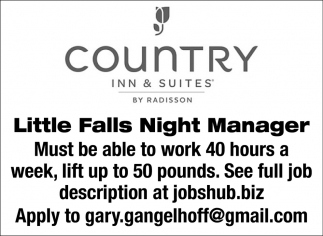 Little Falls Night Manager