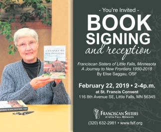 Book Signing and Reception