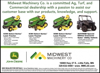 Midwest Machinery Co. is Committed Ag, Turf, and Commercial Dealership
