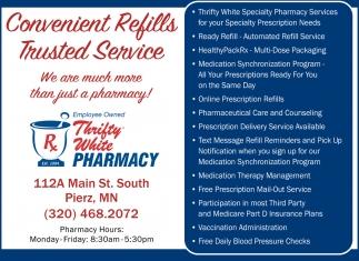 Convenient Refills Trusted Service