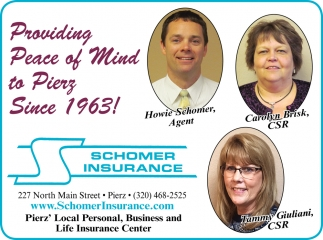 Providing Peace of Mind to Pierz Since 1963!