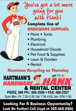 You've Got a Lot More Going for You with Hank!