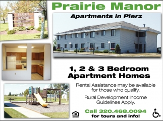1, 2 & 3 Bedroom Apartment Homes