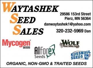 Seed Sales