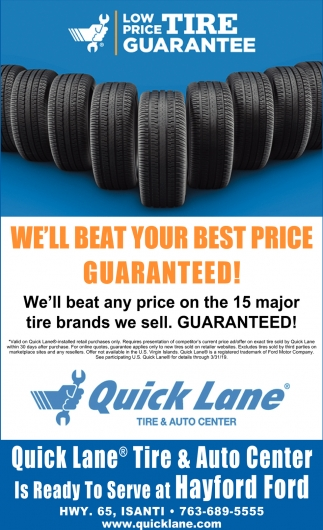 We'll Beat Your Best Price Guaranteed!
