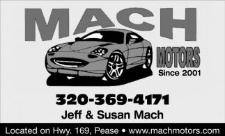 Jeff & Susan Mach