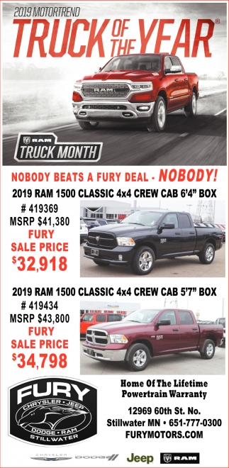 2019 Motortreno Truck of the Year