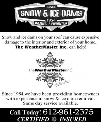 Snow & Ice Dams
